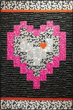 ~ NEW BARGELLO HEART QUILT PATTERN ~ 3 DIFFERENT SIZES ~