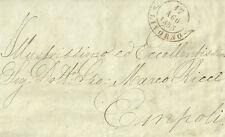 Lettera da Livorno a Empoli Ricerca dei Discendenti del Pittore Bonsignori 1855