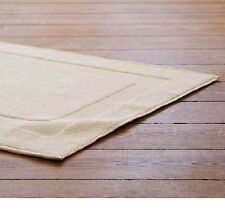 2 PACK NEW BEIGE ULTRA SOFT HOTEL BATH MATS 7# 20X30 PREMIUM SHOWER TUB MAT