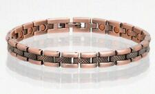 NEW COPPER MAGNETIC LINK BRACELET lady womens STYLE#L71  jewelry health Energy