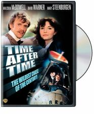 TIME AFTER TIME (1979 Malcolm McDowell)  DVD - UK Compatible -Sealed