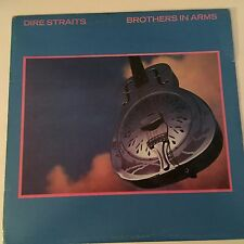 DIRE STRAITS BROTHERS IN ARMS Philips label INNER LYRICS 1985 LP 12""