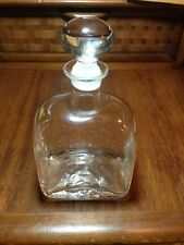 Dartington crystal decanter  Signed with original label  Made in England