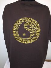 Mens Town and Country Surf Designs Shirt Hawaii hic T&C Brown XXL