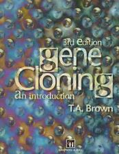 Gene Cloning by Terry A. Brown (1995, Paperback)