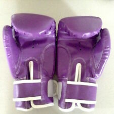 Brand New 12oz Adult Boxing Gloves Pro Boxing Training Purple Lavender Violet