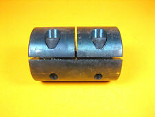 """Steel Rigid Shaft Coupling  2-1/4"""" L x 1-1/2"""" Diameter  3/4"""" Bore Dia."""