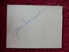 ACTRESS JANE WYMAN AUTOGRAPH
