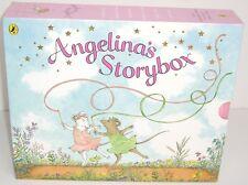 Boxed Set Katherine Holabird ANGELINA BALLERINA 6 x Hardback Large Books Bundle
