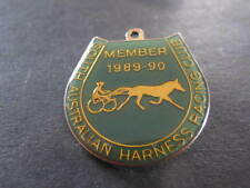 89 90 South Australian Harness Racing Club Member Badge