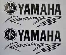 Yamaha Racing logo, Vinyl Decal / Sticker - 200 x 90mm Pair