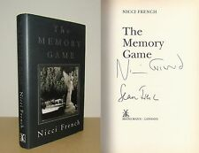 Nicci French - The Memory Game - Signed - 1st/1st