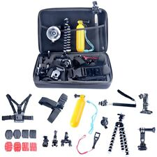 26 in 1 Head Chest Mount Floating Monopod Accessories Kit Gopro Hero Camera