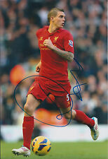 Daniel AGGER Signed Autograph 12x8 Photo AFTAL COA Liverpool Premier League RARE
