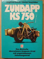 Zündapp KS750 Gespanne Seitenwagen Motorräder Entwicklung Buch Reparatur Buch !