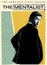 The Mentalist: The Complete Sixth Season 6 Six 6th (DVD, 2014, 5-Disc Set) New