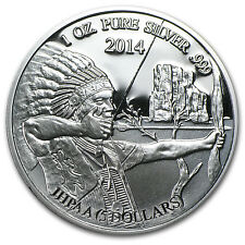 2014 Mesa Grande 1 oz Indian Silver Eagle Coin - SKU #79957