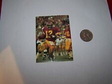 1979 USC TROJANS POCKET SCHEDULE COLLEGE FOOTBALL SOUTHERN CALIFORNIA