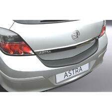 RGM Rear Black Bumper Protector For Vauxhall Astra H Mk5 3 Door 2005 - 2011