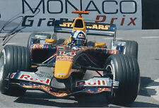 David Coulthard Red Bull F1 Hand Signed 12x8 Photo.