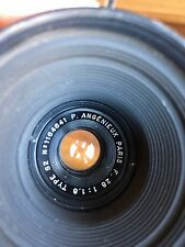 Angenieux S2 28mm f1.8 Vintage French Arriflex Mount Movie Lens Kinoptik Boyer