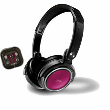 Coby CV-H800PK 2 in 1 Jammerz Xtra Headphone /Earbuds CVH800 Pink