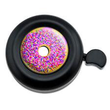Pink Donut Sprinkles - Bicycle Handlebar Bike Bell