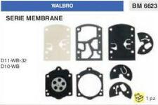 KIT SERIE MEMBRANE membrana CARBURATORE WALBRO K11-WB 32 D10-WB
