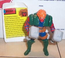 1993 Toy Biz X Men X Force Series 2 GRIZZLY Action Figure Complete VHTF
