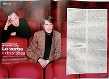 2005: FABRICE LUCHINI et LAURENT TERZIEFF_RENEE FLEMING_ENKI BILAL_DAVID LODGE