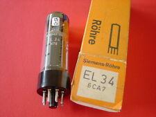 1 Tube lampe EL34 EL 34 6CA7 SIEMENS  NOS  NIB