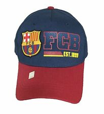 FC BARCELONA SOCCER HAT CAP FCB OFFICIAL ADJUSTABLE licensed product