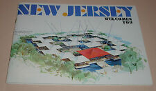 New Jersey Welcomes You On the Cover NJ Pavillion at The NY World's Fair
