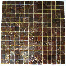 "Glass Mosaic Tiles 1""x1"" on 10 sqft sheet (10 Sheets) - PRICE REDUCED!!!"