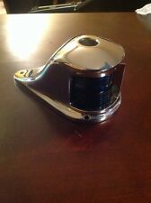 Vintage Perko Bow Light Bicolored  Glass Lens Rechromed July 13 '