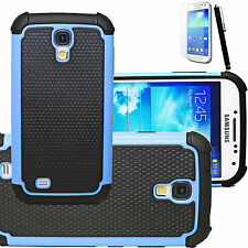 New Combo Hybrid Impact Hard Case Cover+Screen for Samsung Galaxy S IV S4 i9500