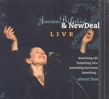 JASNA BILUSIC & NEW DEAL 2 CD Live Almost Blue Something Love Monkey Blue Skies