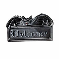 Design Toscano - Halloween - Vampire Bat Welcome Wall Sculpture