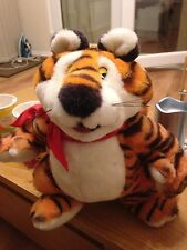 "VINTAGE TONY THE TIGER KELLOGGS FROSTIES ADVERT PLUSH SOFT TOY 15""/38CM"