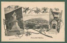 Lazio. PALESTRINA, Roma. Cartolina d'epoca viaggiata nel 1923.