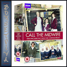 CALL THE MIDWIFE - COMPLETE SERIES SEASONS 1 2 & 3 ***BRAND NEW DVD BOXSET ****