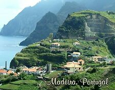 Portugal - MADEIRA  - Travel Souvenir Fridge Magnet