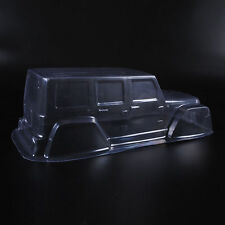 For 1:10 Scale RC Crawler Car D90 Transparent  PVC Climbing Car Jeep Body Shell