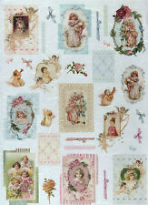 Ricepaper/Decoupage paper,Scrapbooking Sheets/Craft Paper Vintage Girls
