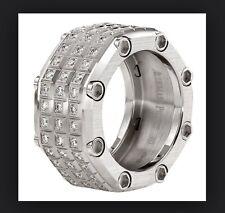 AP AUDEMARS PIGUET Royal Oak Offshore 18K White Gold Full Diamond Ring