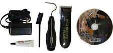 Wahl Horse Dog CORD CORDLESS PRO SERIES CLIPPERS 3 Blades Brush Oil DVD