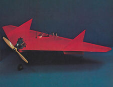 Lil Toad Delta Wing Aerobatic Sport Plane Plans, Templates and Instrucitons