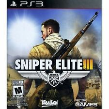 Sniper Elite III USED SEALED (Sony PlayStation 3, 2014) PS3