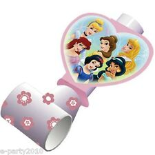 DISNEY PRINCESS Fairy-Tale Friends BLOWOUTS (8) ~ Birthday Party Supplies Favors