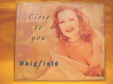 MAXI Single CD WHIGFIELD Close To You 3TR 1995 eurodance